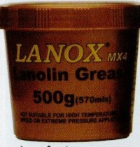 LANOX  MX4G 500G TUB GREASE