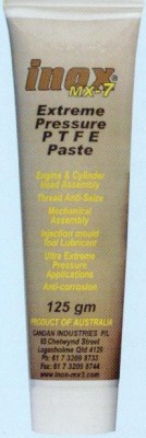 INOX  MX7 125G TUBE PASTE
